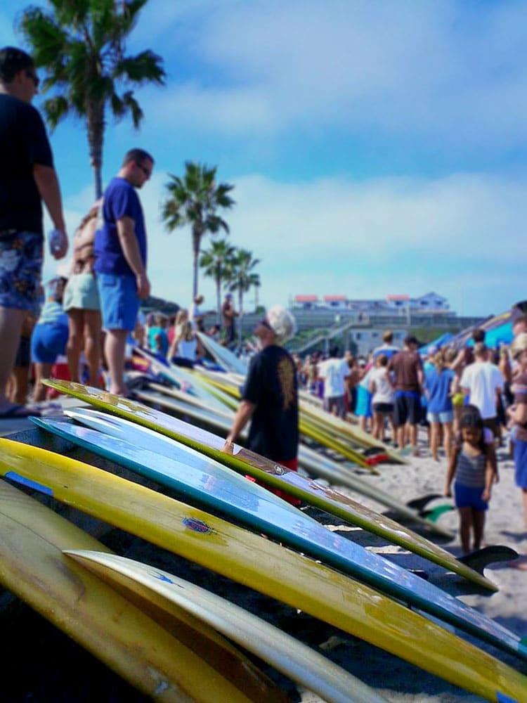 surf Kalifornien