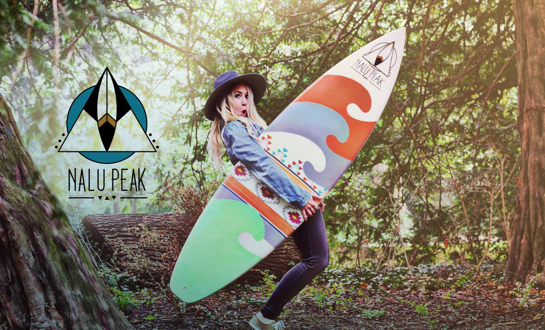 Nalu Peak Surf und Board Art