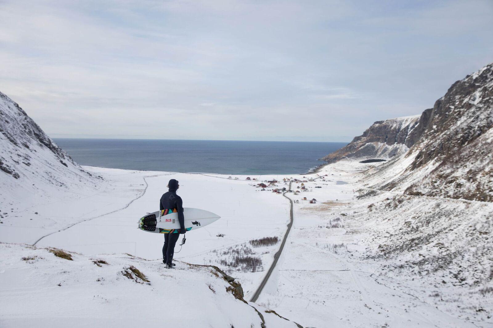Norrøna mit Arctic Surf Linie