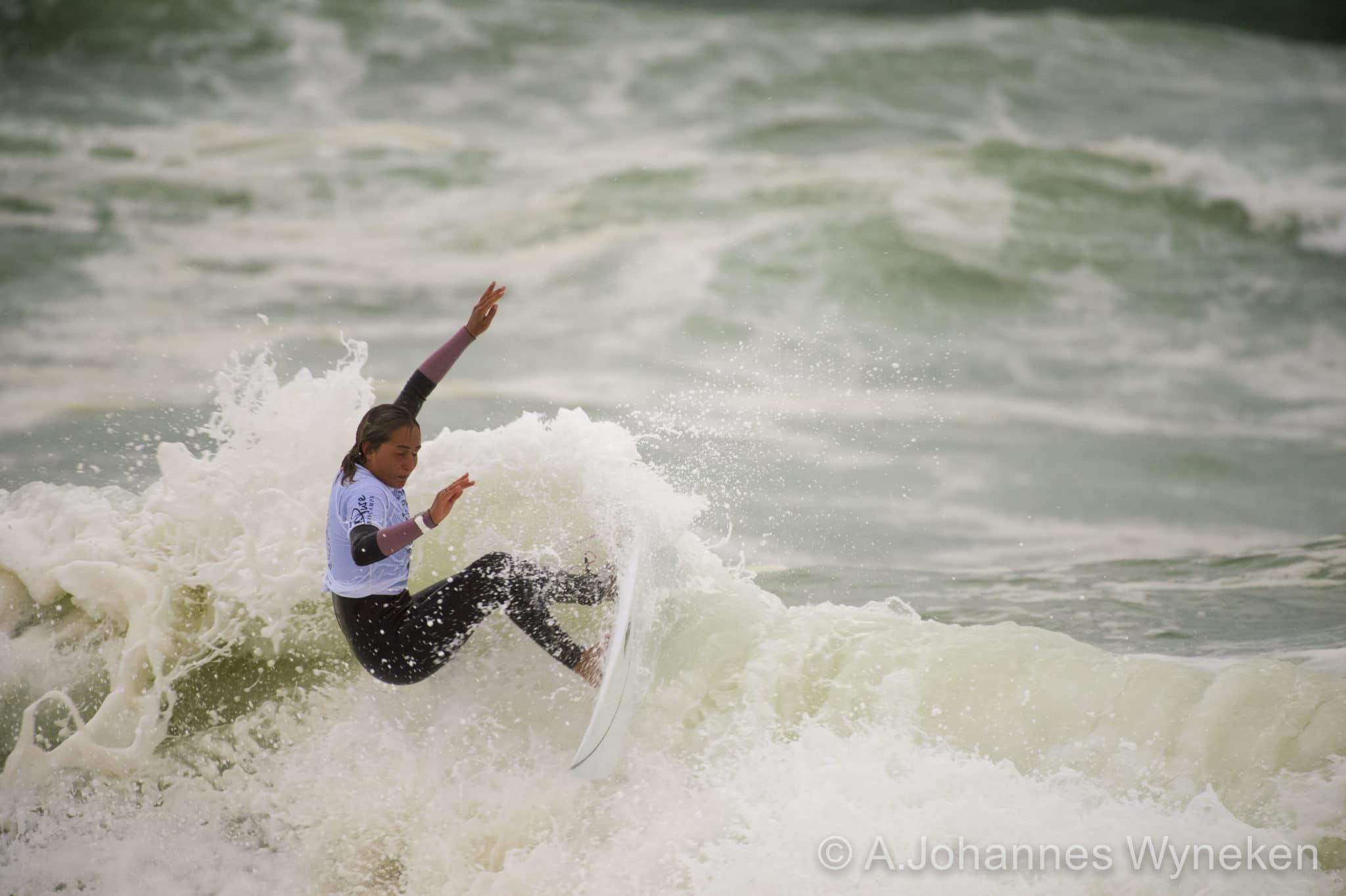 Foto Johannes Wyneken Surfer Frankie Harrer
