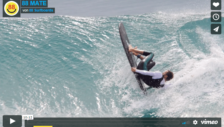Softtop Surfing mit dem 88Surfboards Team