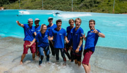Team Deutschland im Wavegarden
