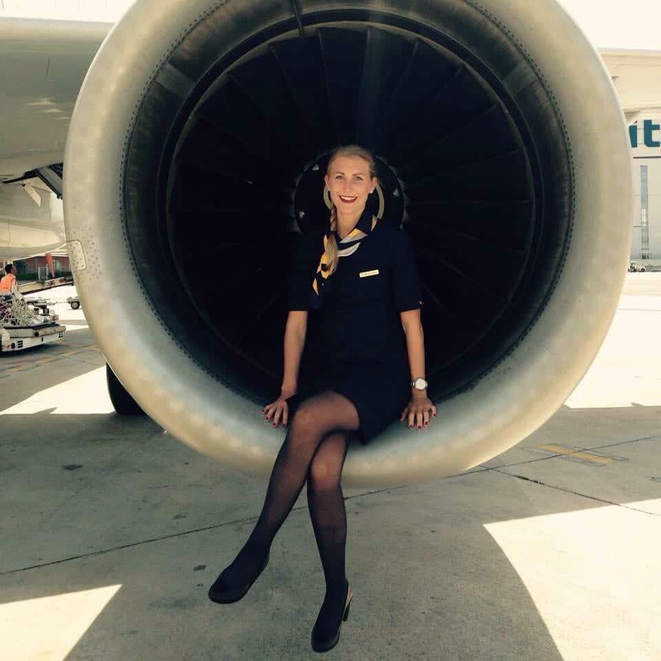 Die surfende Flugbegleiterin – Daniela Mischon