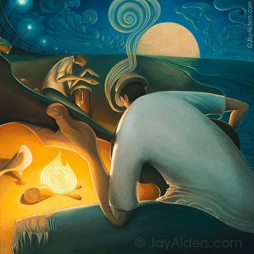 burning inspiration jayalders surfart