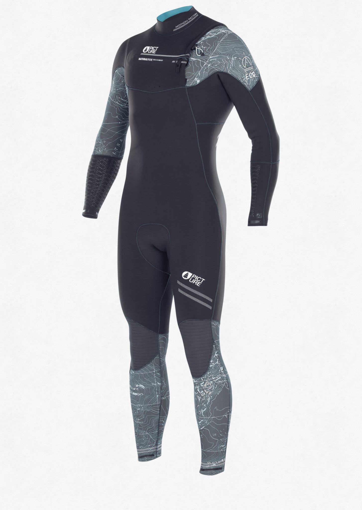 topographic wetsuit 35 45