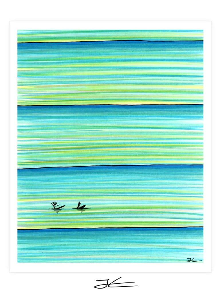 Surf Buddies Art Print Jonas