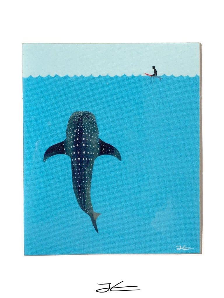 Whale Shark Sticker Jonas Claesson dda9a230 162f 4abb 89ae