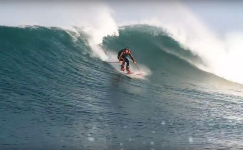 auf skiern surfen