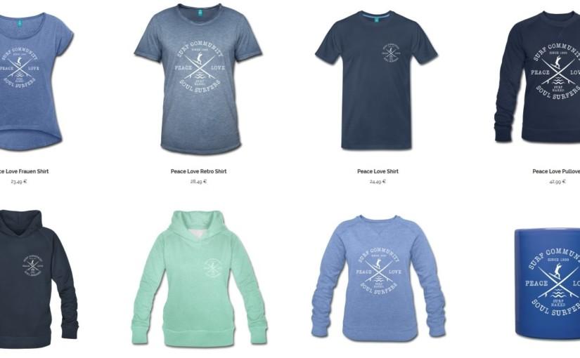 Neue Soul-Surfers T-Shirts und mehr