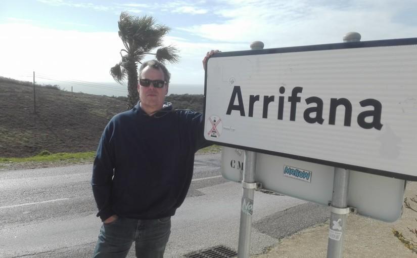 Arrifana – ein neuer Surf-Punk Krimi von Gerry Esser