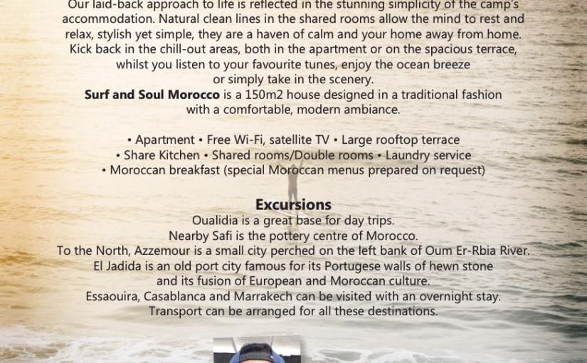 Opening SURF, SUP und Yoga Schule Marokko