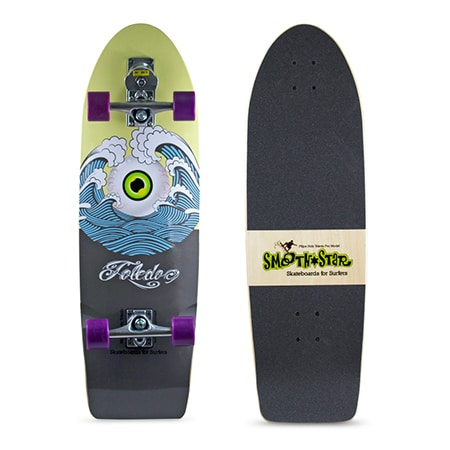 Surf Skate – smoothstar carver oder yow skate