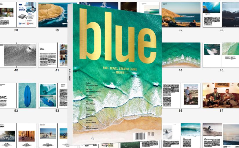 BLUE Yearbook 2018 erscheint am 11.5.2018