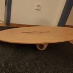 Wonkeyboard (Balance Board) mit Unterlage