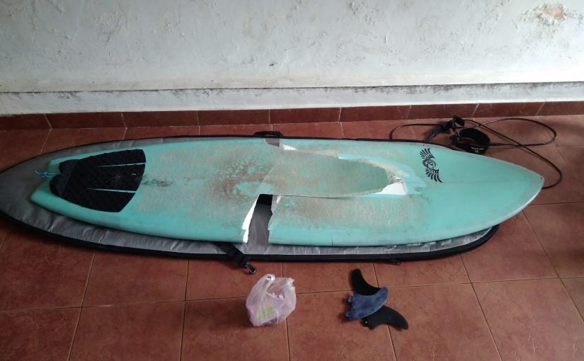 Surfbrett Reparatur