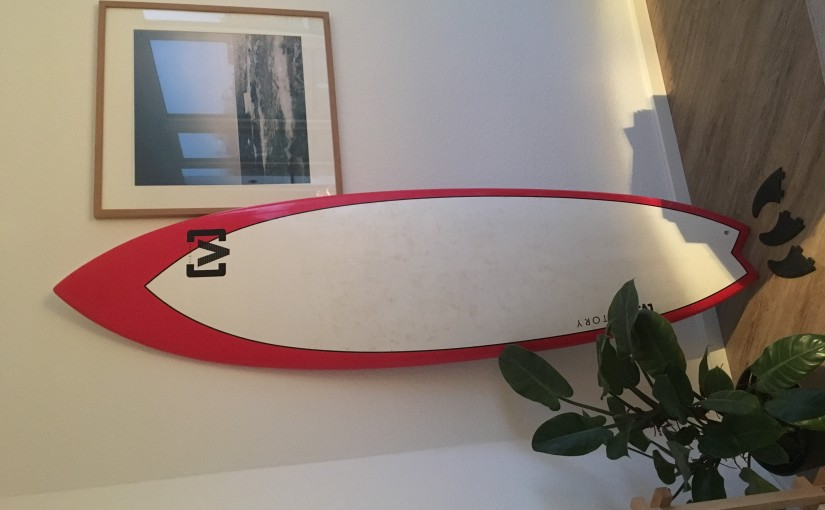 Surfboard/Wellenreiter Fish Victory 6'10