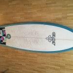 "Verkaufe: LSD Flashback 5`10"" Retrofish Twinfin Surfbrett Surfboard"