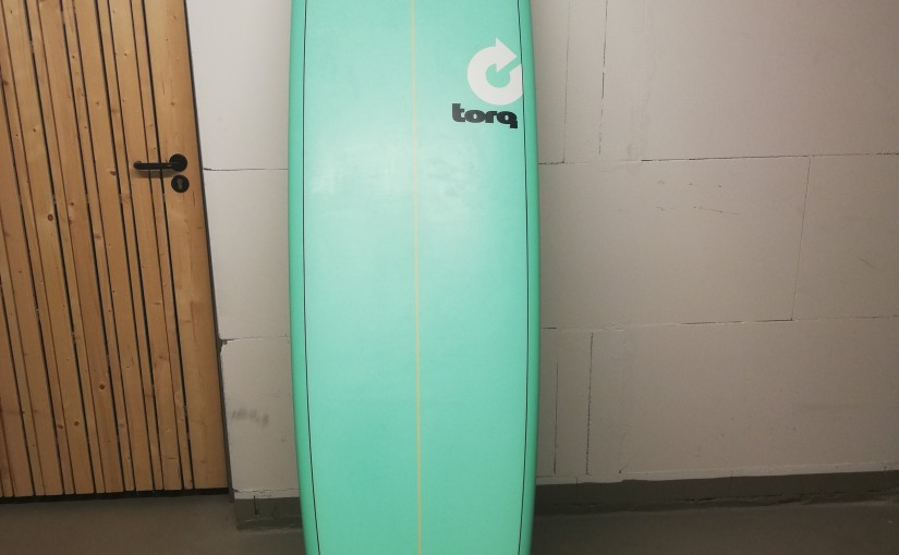 Torq TET Epoxy 8'6″ in seagreen